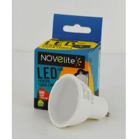 Bec LED 5W, Spot, GU10, lumina calda 3000K, Novelite