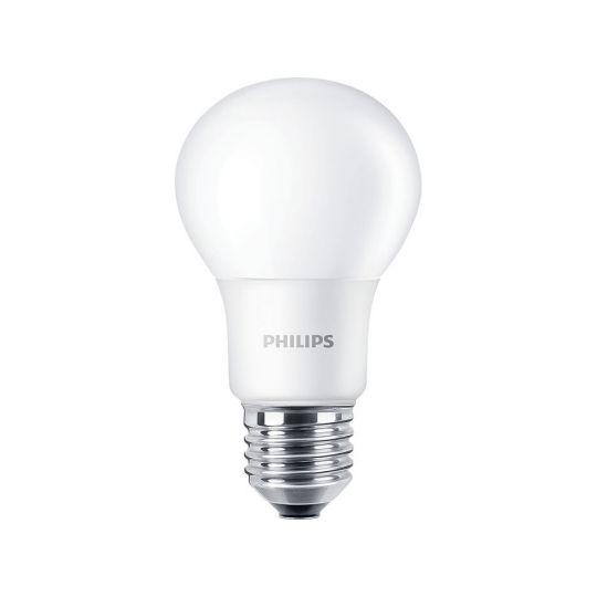 Bec LED 7.5W, A60, E27, lumina rece 6500K, Philips