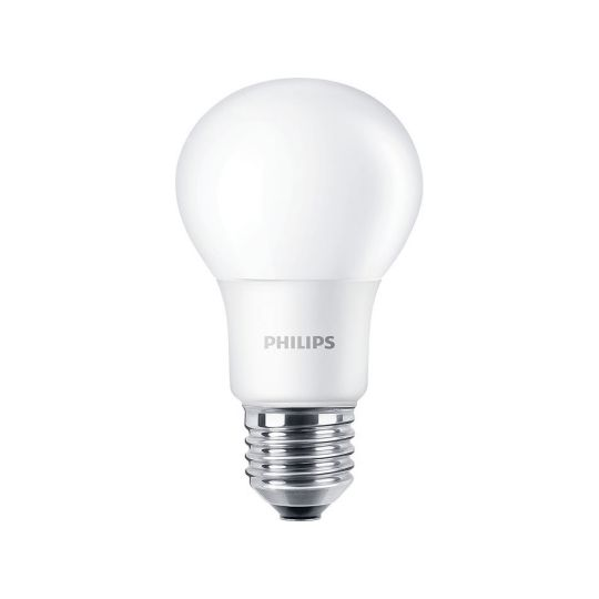 Bec LED 8W, A60, E27, lumina calda 2700K, Philips