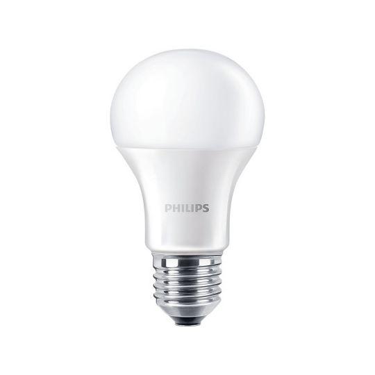 Bec LED 10W, A60, E27, lumina rece 6500K, Philips