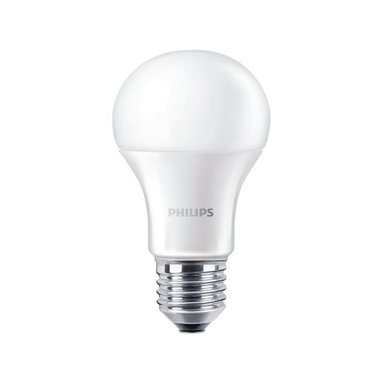 Bec LED 13W, A60, E27, lumina calda 3000K, Philips
