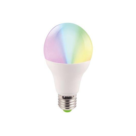 Bec LED EVO17 5W, A60, E27, RGB, Total Green