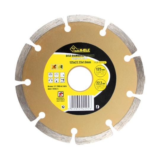 Disc diamantat Uscat, diametru 125 mm BX