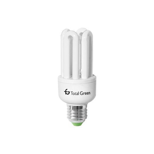 Bec economic 4U 45W, stick, E27, lumina calda 2700K, Total Green