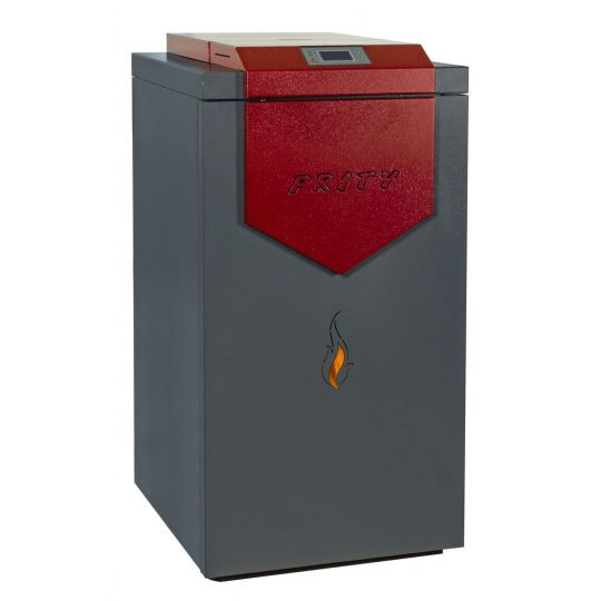 Termosemineu incalzire centrala peleti automatizat Prity PLW25B 26 kW