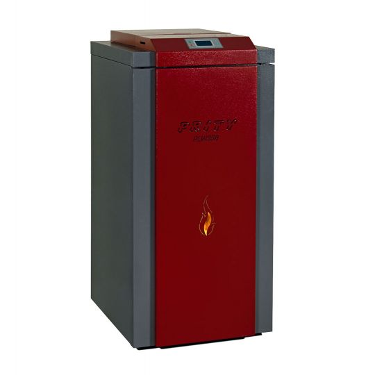 Termosemineu incalzire centrala peleti automatizat Prity PLW35B 35 kW