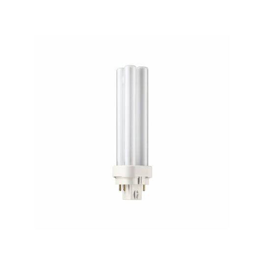 Bec economic PL-C 13W 4P, Stick, G24Q-1, lumina calda 3000K, Philips