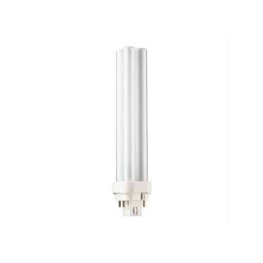 Bec economic PL-C 26W 4P, Stick, G24Q-3, lumina calda 2700K, Philips