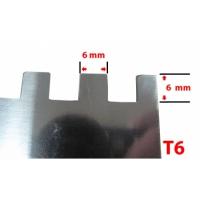 Drisca zimtata 280x130 mm T16 Evo PRO