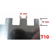 Drisca zimtata 280x130 mm T10 EvoTools