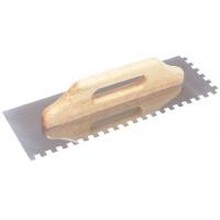 Drisca zimtata cu maner de lemn lungime 400 mm EvoTools