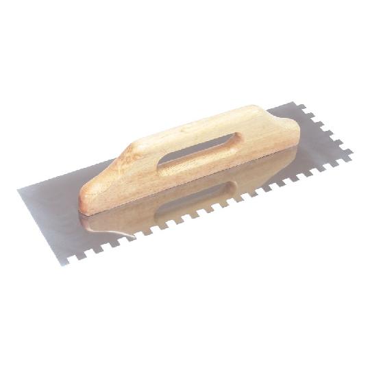 Drisca zimtata cu maner de lemn 500 mm Evo