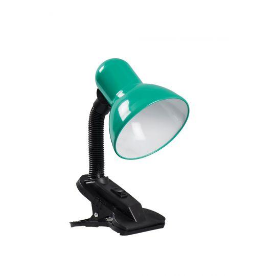 Lampa de Birou Clip, 60W, Verde, 1xE27, Erste