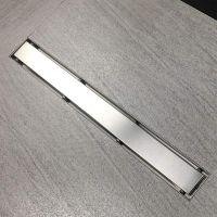 Rigola dus Gehler cu gratar inox model STONE (faiantabila), 50 mm cu izolatie