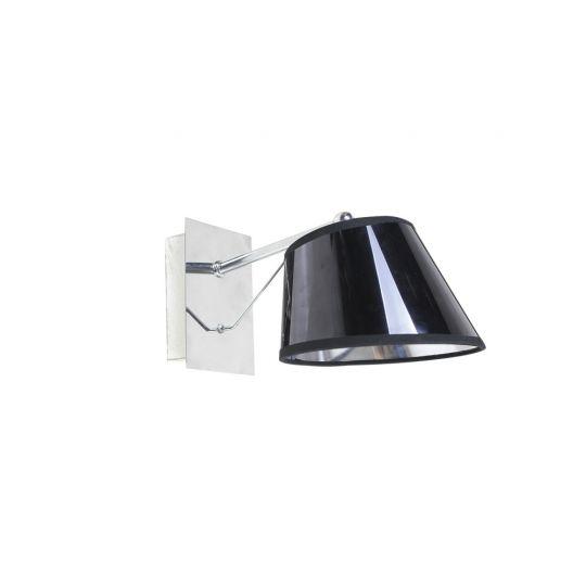 Aplica Interior Ebony, 1 x E27, Max. 60W, Negru, Erste