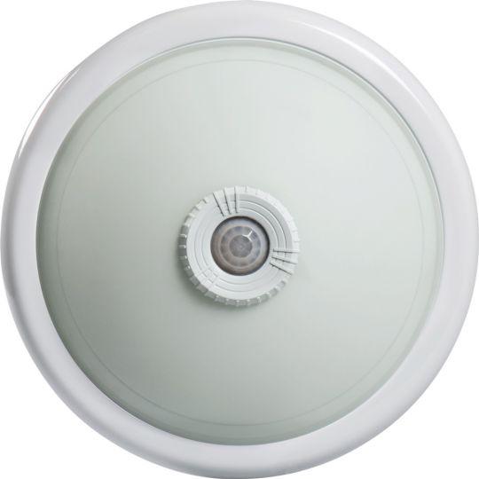 Plafoniera Interior Senzor Selum 2014, 2 x E27, Max. 25W, Alb, 360 grade, Erste