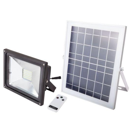 Proiector cu LED 3.5W, incarcare solara si telecomanda Evo