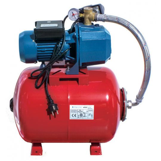 Hidrofor Everpower JH9024, 1000W, vas otel 24 litri, debit 48L/min, adancime 9 m