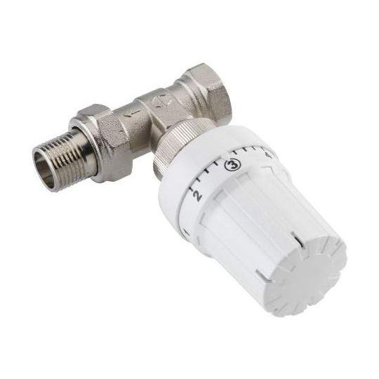Set robinet drept cu cap termostatat CORNAT 1/2