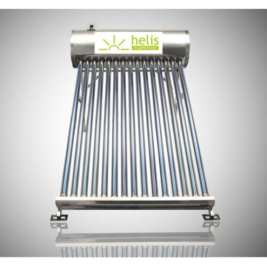 Sistem Panou Solar Inox cu Tuburi Vidate JDL-TF12-58/1.8, 90 l, 12 Tuburi, Helis