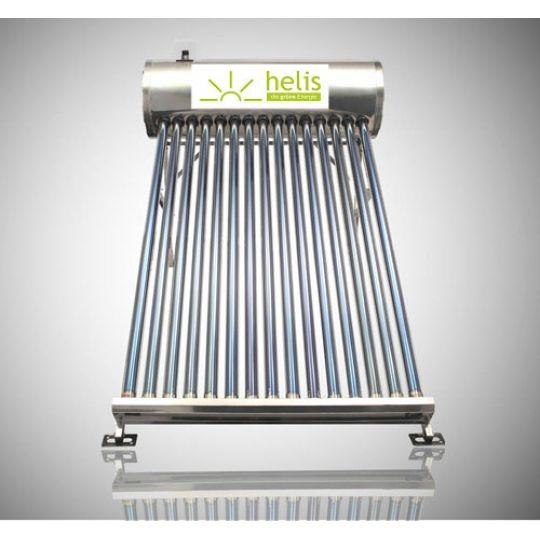 Sistem Panou Solar Inox cu Tuburi Vidate JDL-TF18-58/1.8, 150 l, 18 Tuburi, Helis