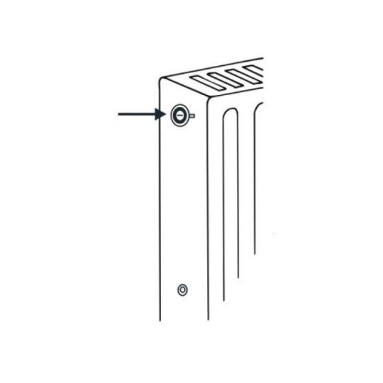 Set 2 buc aerisitor automat calorifere Cornat