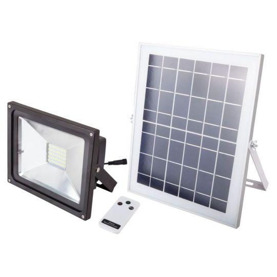 Proiector cu LED 6W, incarcare solara si telecomanda Evo