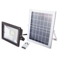 Proiector cu LED 12W, incarcare solara si telecomanda Evo
