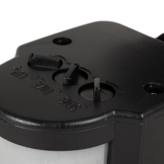 Senzor de prezenta JQ-35, 180 grade, IP44, NV-1111.35, Negru, Novelite