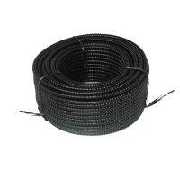Tub copex metalic cu izolatie PVC D18, colac 50 m Novelite