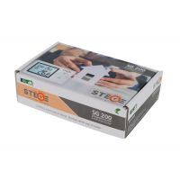 Termostat programabil, cu fir, LCD, iluminare LED, Stege SG200