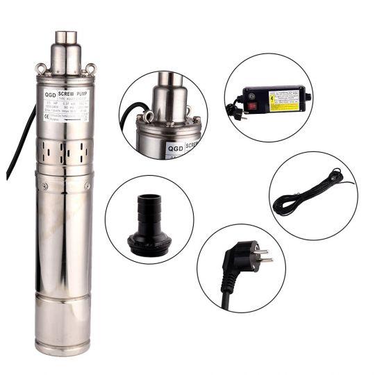 Pompa submersibila cu snec GRONNHAGE EGDa 1.8-50-0.50, 500W, inaltime 80 m, 7.8 bar, tablou comanda