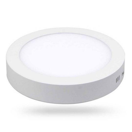 Spot LED aplicat Rotund, 24W, lumina calda 2700K, IP40, Novelite