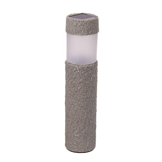 Lampa gradina solara, imitatie piatra, LED OMEGA, IP44 Erste