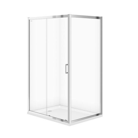 Cabina dus dreptunghiulara Cersanit Arteco sticla transparenta 120x90x190 cm