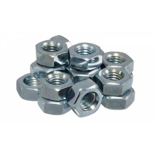 Piulite hexagonale cu filet metric M20 - 100 buc (DIN 934-8)