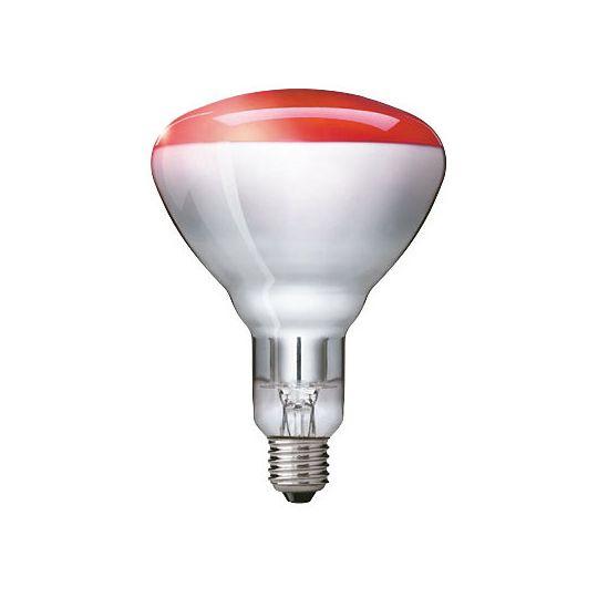 Bec reflector INFRAROSU 250W E27, BR125, dimabil Philips