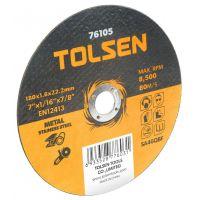 Disc Abraziv pentru Otel 115x1x22 mm Tolsen