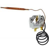 Termostat boiler, reglabil 11-75 C, 20A, 250V, cu capilar COTHERM