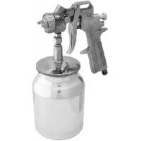 Pistol de vopsit cu rezervor 1000 ml, vas inferior BX