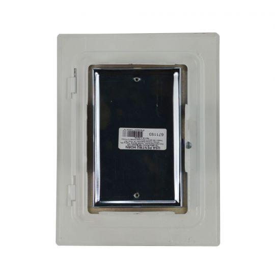 Usa pentru cos fum 180x120 mm Alb/Maro