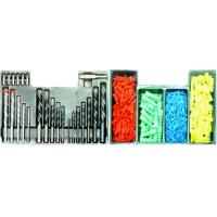 Set 300 bucati burghie combinate + dibluri