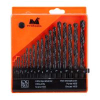 Set 19 Burghie Metal HSS, 1-10 mm, EvoTools