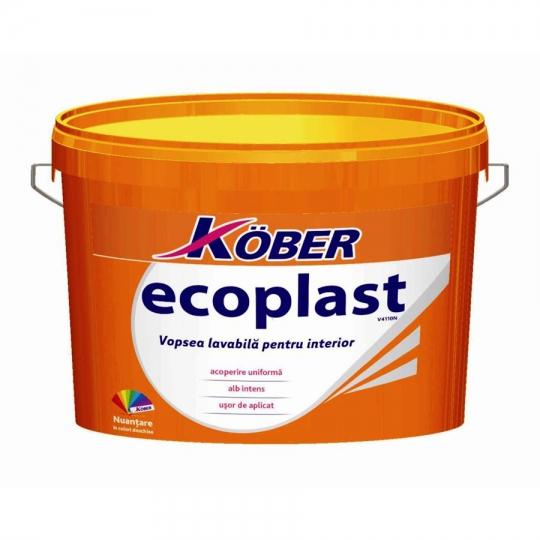 Vopsea lavabila pentru interior Ecoplast 15 l Kober