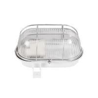 Lampa de exterior cu grila BAT 1xE27, max 100W, IP54 Alb Novelite