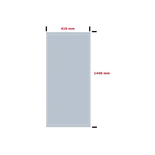 Oglinda de baie 144x41 cm