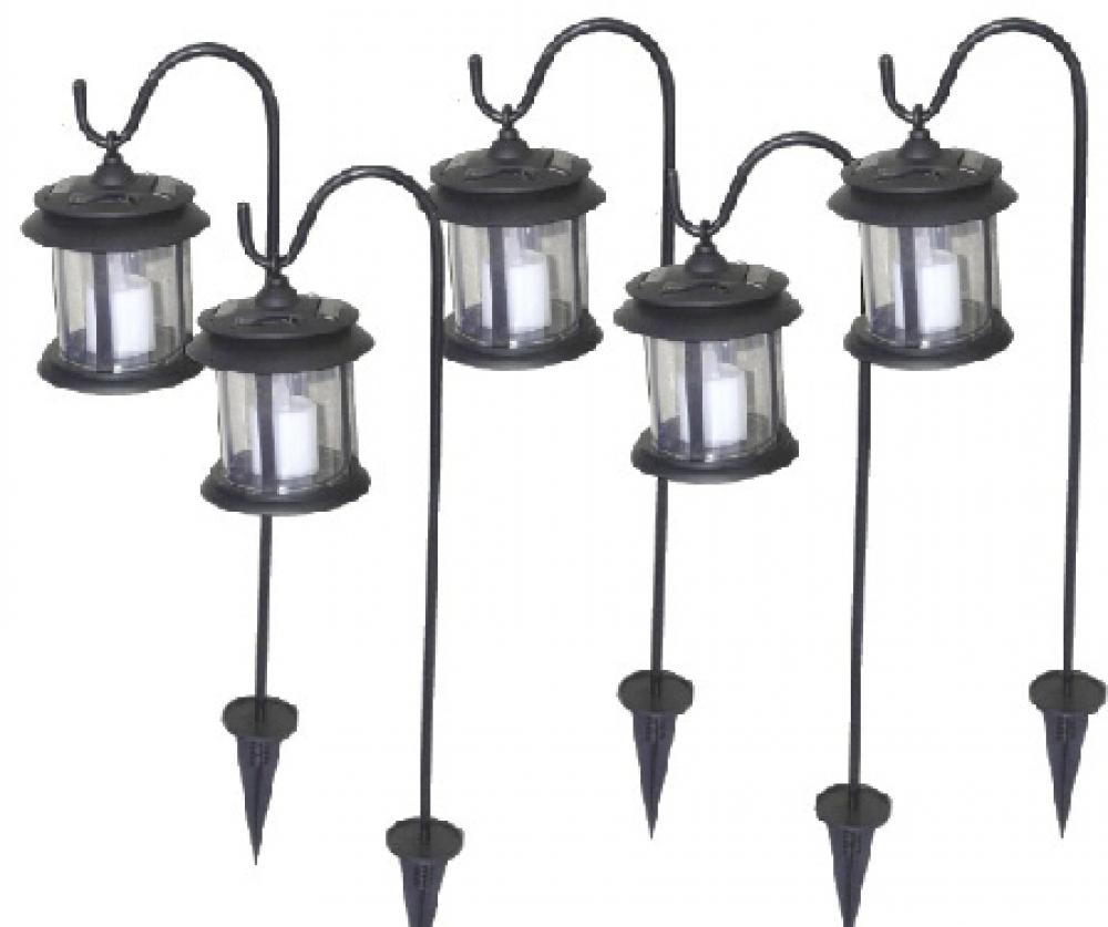 Set Lampi Solare.Set 5 Lampi Solare Tip Felinar