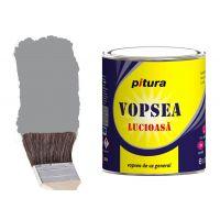 Vopsea Pitura Gri Metal 0.75 l Kober