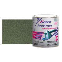 Vopsea Hammer lovitura ciocan Verde Luminos 0.75 l Kober