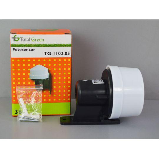 Fotosenzor 10A, 1200W, IP44 Max Total Green